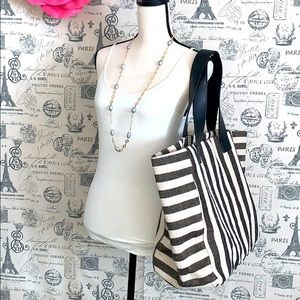 French Connection large summer bag